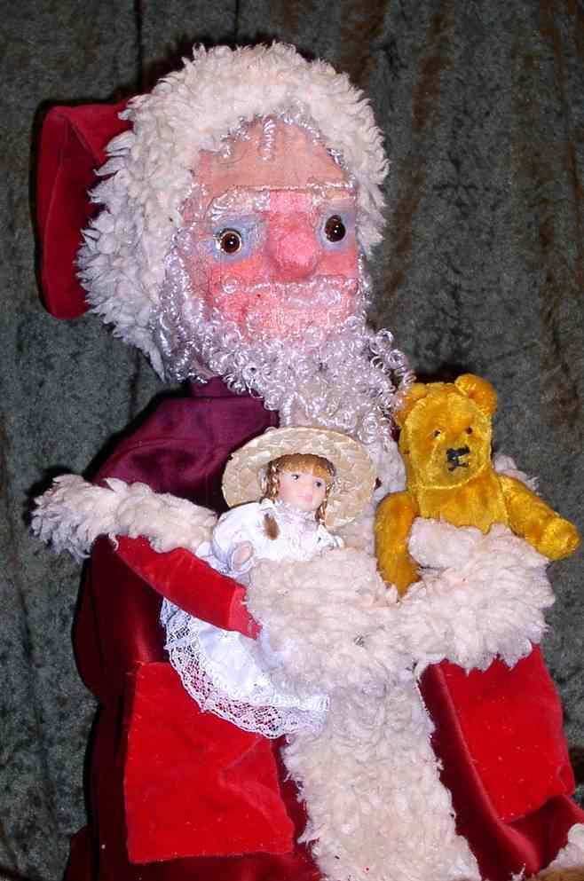 weihnachtsmann maske ddr